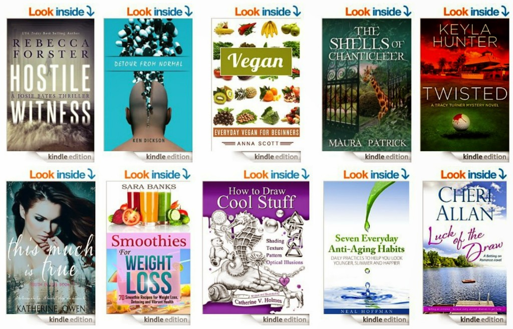 10 Free Kindle Books 3-16-15