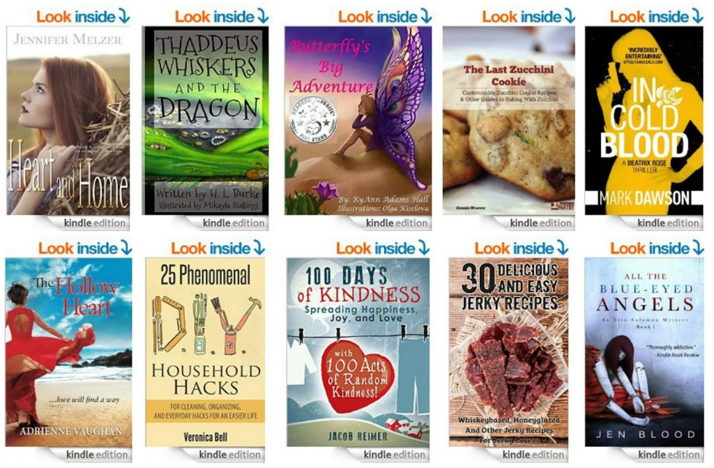 10 Free Kindle Books 3-17-15