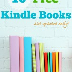 Thumbnail image for 10 Free Amazon Kindle Books | 3/26/15