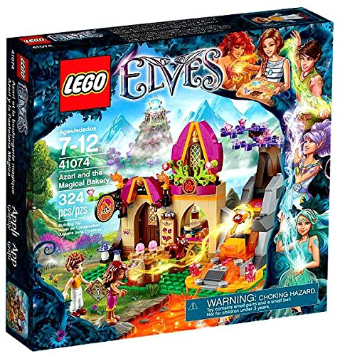 lego elves magical bakery