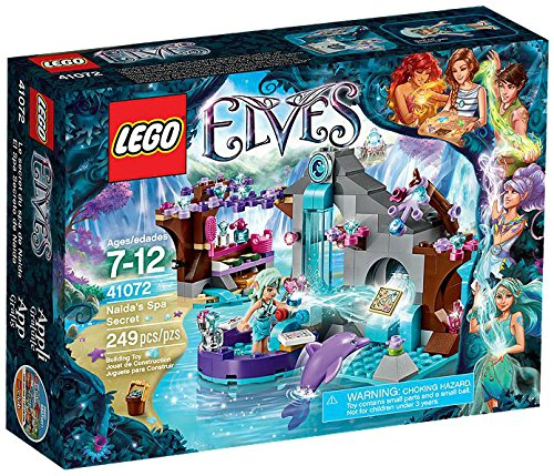 lego elves spa secret