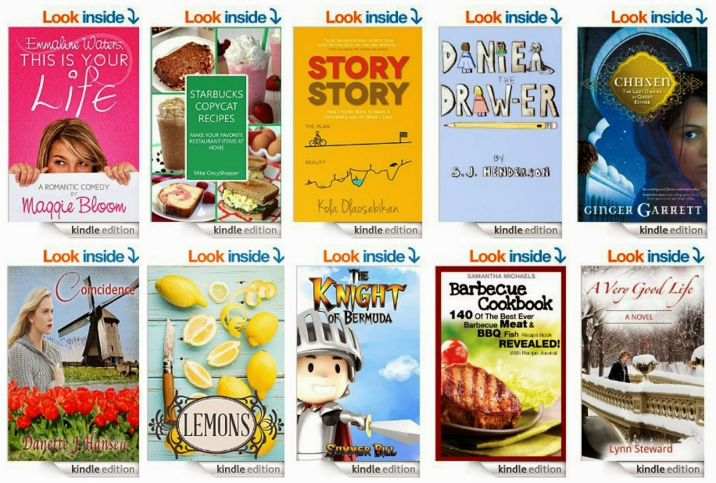 10 Free Kindle Books 4-17-15