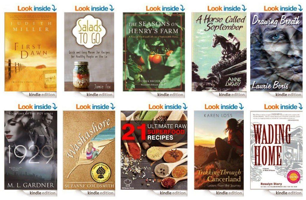 10 Free Kindle Books 4-21-15