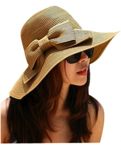 womens straw beach hat deal