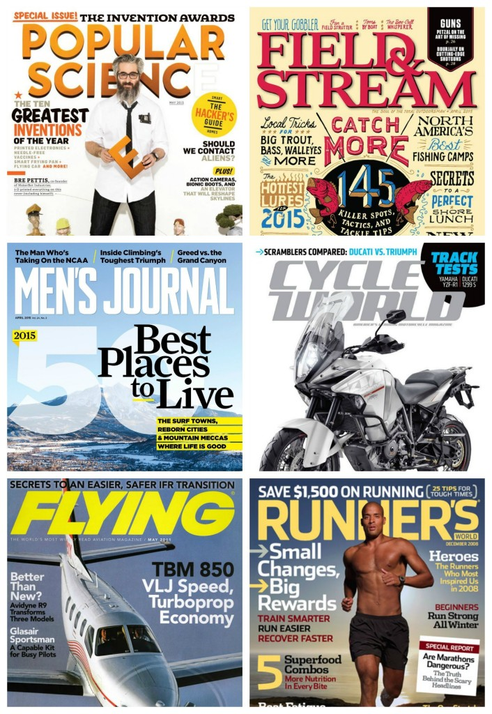cheap mens magazine subscription deals
