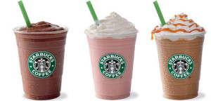 starbucks half priced frappuccino happy hour 2015