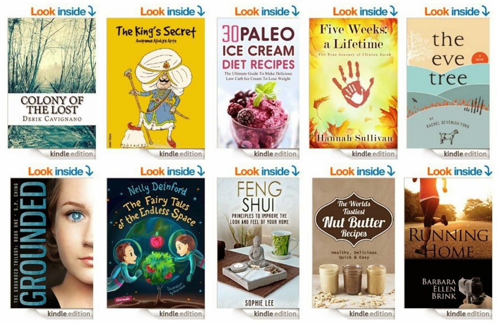 10 Free Kindle Books 5-20-15