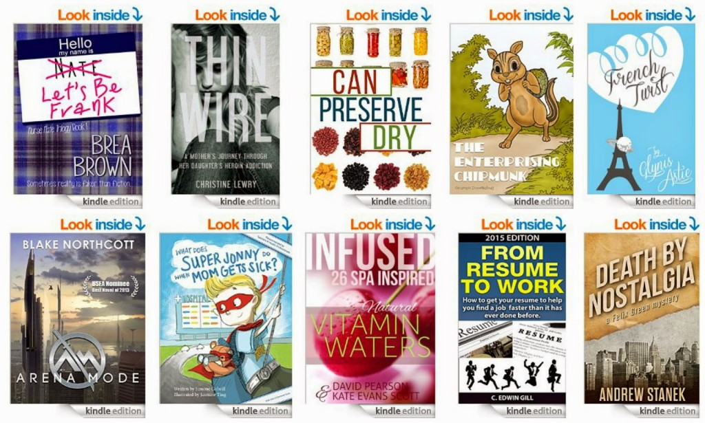 10 Free kindle Books 5-17-15