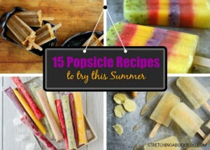 15 popsicle recipes to try this summer