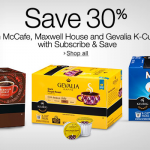 Thumbnail image for Save 30% on McCafe, Maxwell House and Gevalia K-Cups