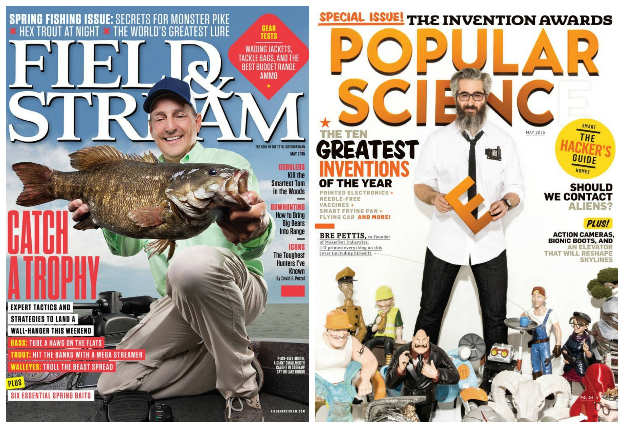 field stream and popular science 5 magazine subscriptions