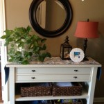 Thumbnail image for Frugal Spring/Summer Foyer Table Refresh