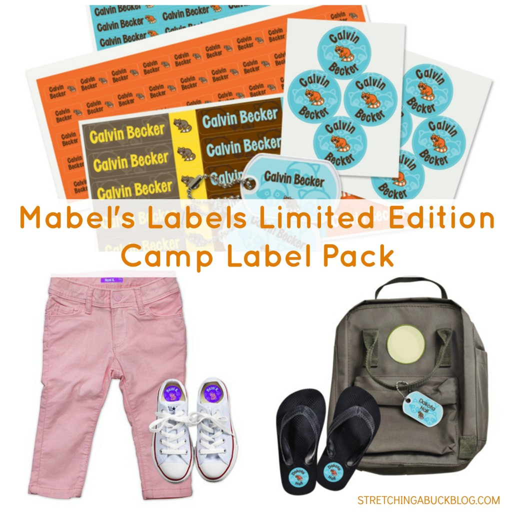 mabels labels camp label pack