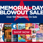 Thumbnail image for Discount Mags Memorial Day Sale