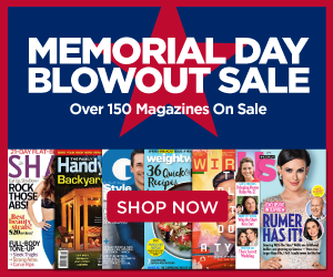 discount mags memorial day sale