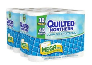 quilted northern ultra strong and soft 18 mega rolls