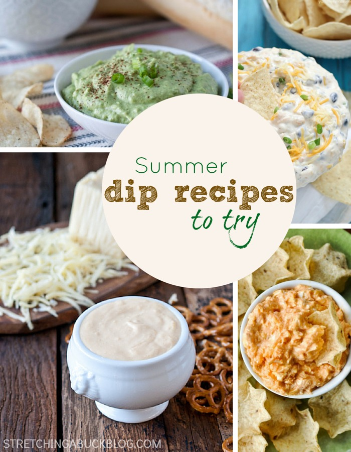 15 Summer Dip Recipes to Try
