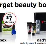 Thumbnail image for Target Summer Beauty Box & Dad's Box for $5 – $7 Shipped!
