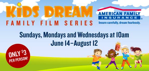 marcus theaters kids dream family film series