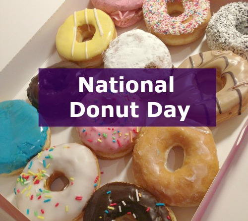 Elegant 2015 National Donut Day Coupons Related Keywords