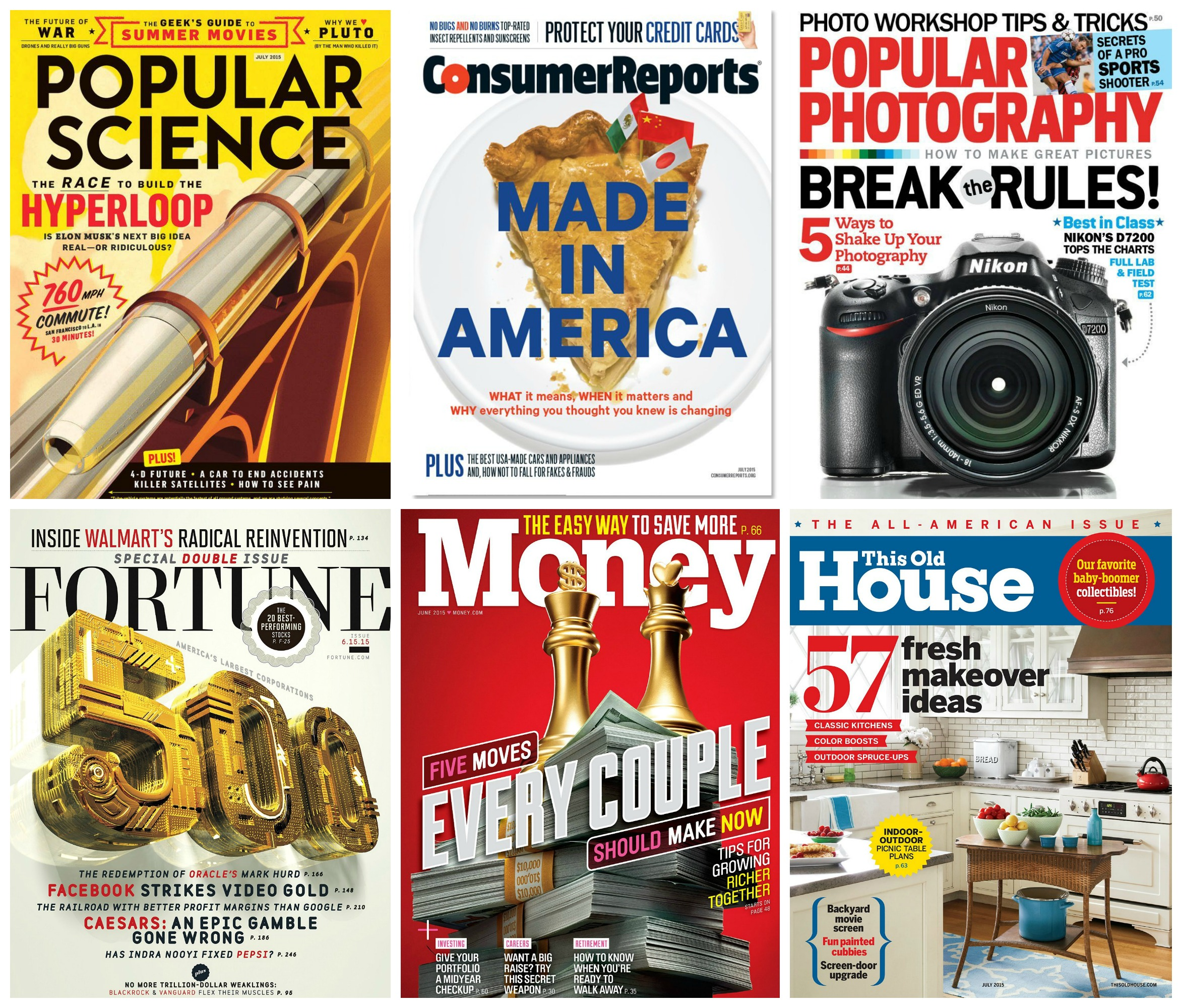 Father S Day Magazine Deals 5 Popular Science Money