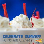Thumbnail image for SONIC Half Priced Shakes (6/18/15)