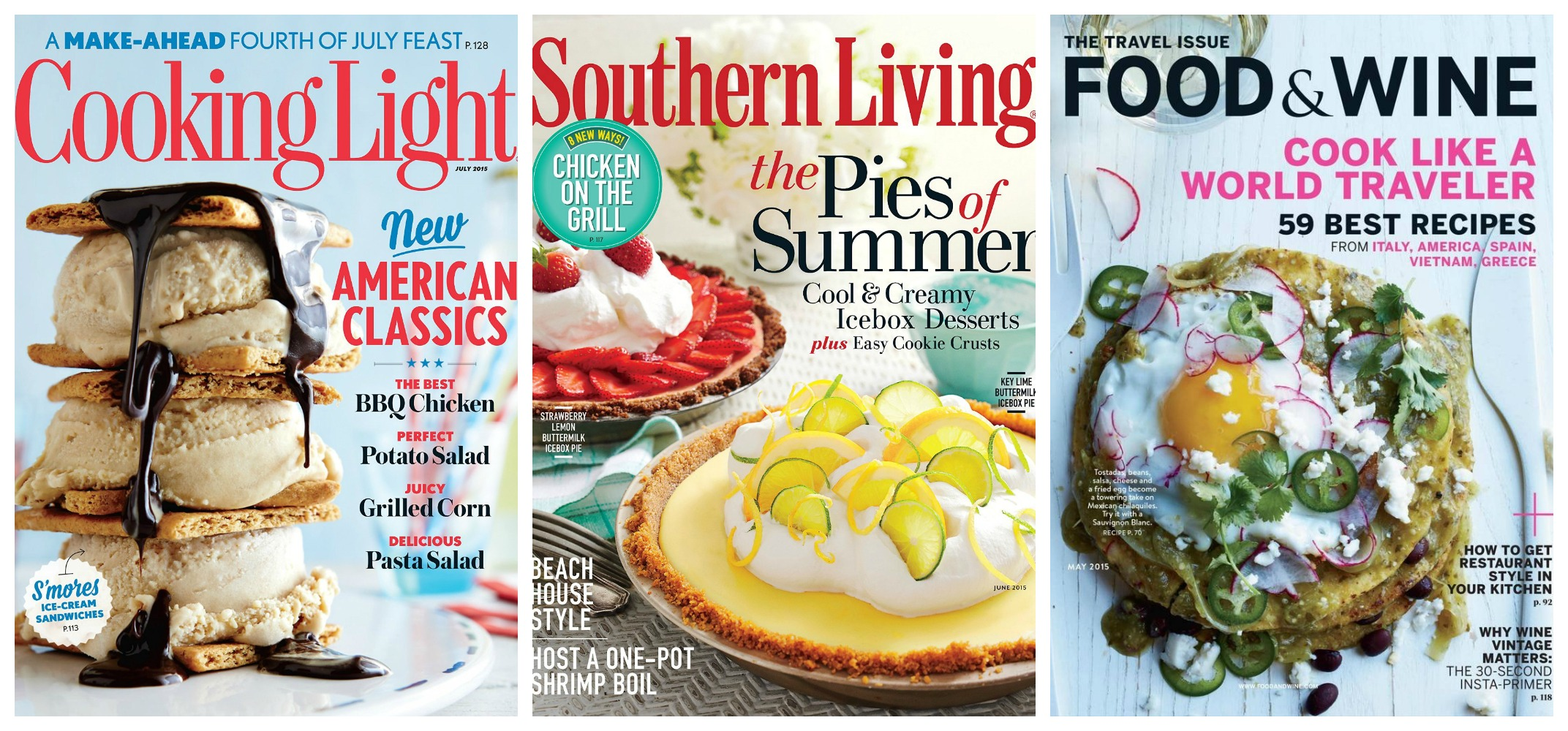 Southern living cooking light and food wine magazines for 5 southern living magazine subscription deal forumfinder