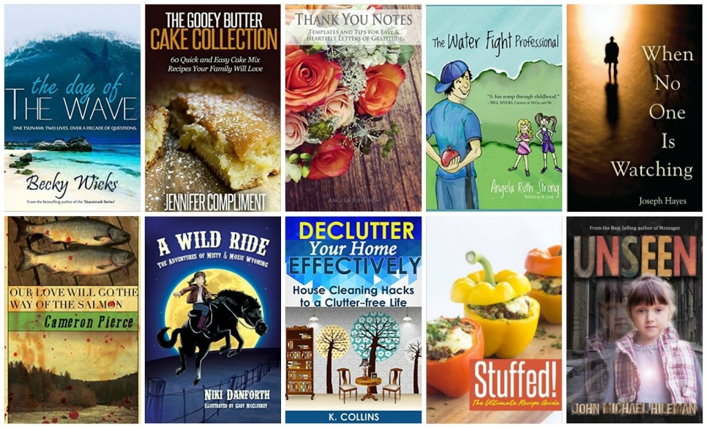 10 Free Kindle Books 7-18-15