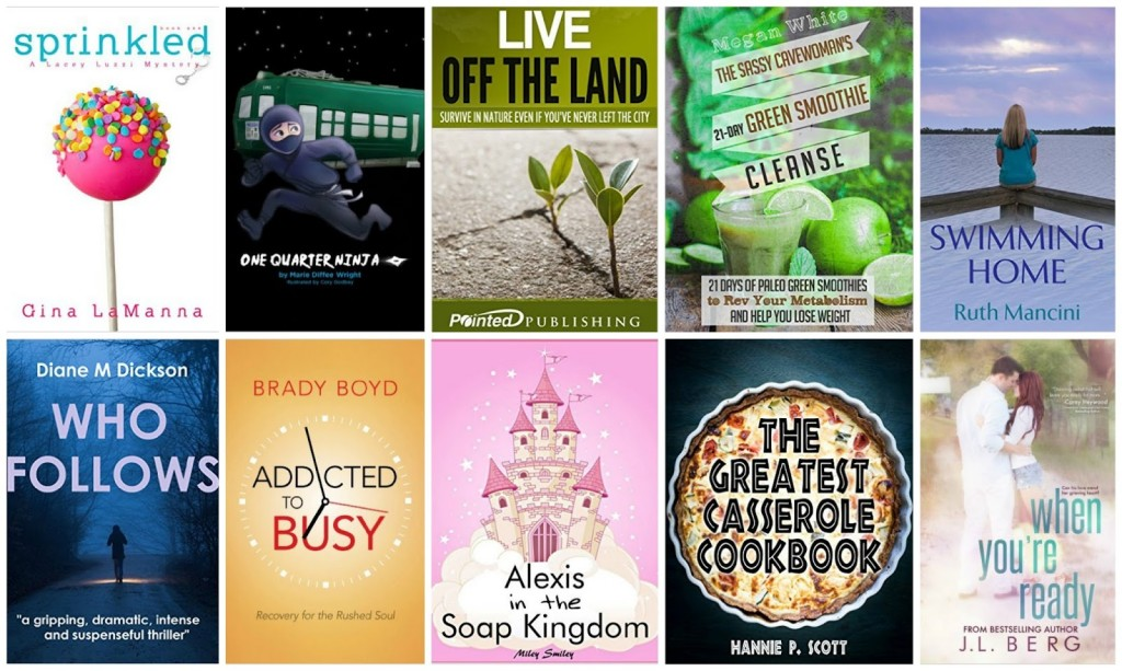 10 Free Kindle Books 7-3-15