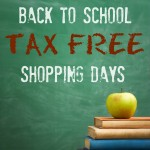 Thumbnail image for 2015 Back to School Tax Free Shopping Days