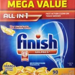 Thumbnail image for Finish Gelpacs Dishwasher Detergent for $0.14 Per Gelpac Shipped