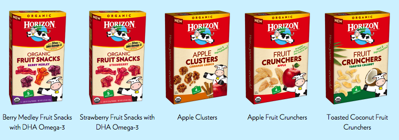 horizon organic snacks