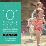 Thumbnail image for Shutterfly 101 FREE Prints | July 5 – 7, 2015