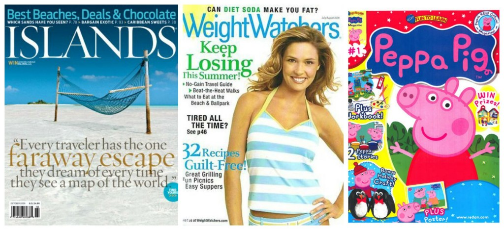 islands weight watchers peppa pig magazine subscription deals