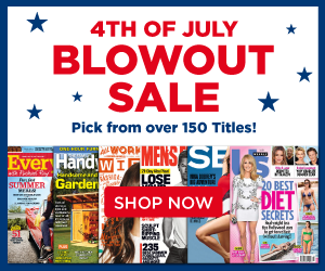 july 4th magazine subscription sale