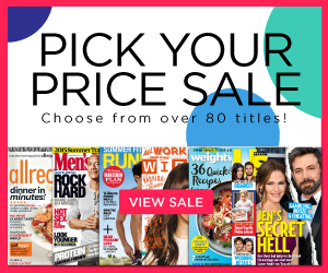 discount magazine subscription sale