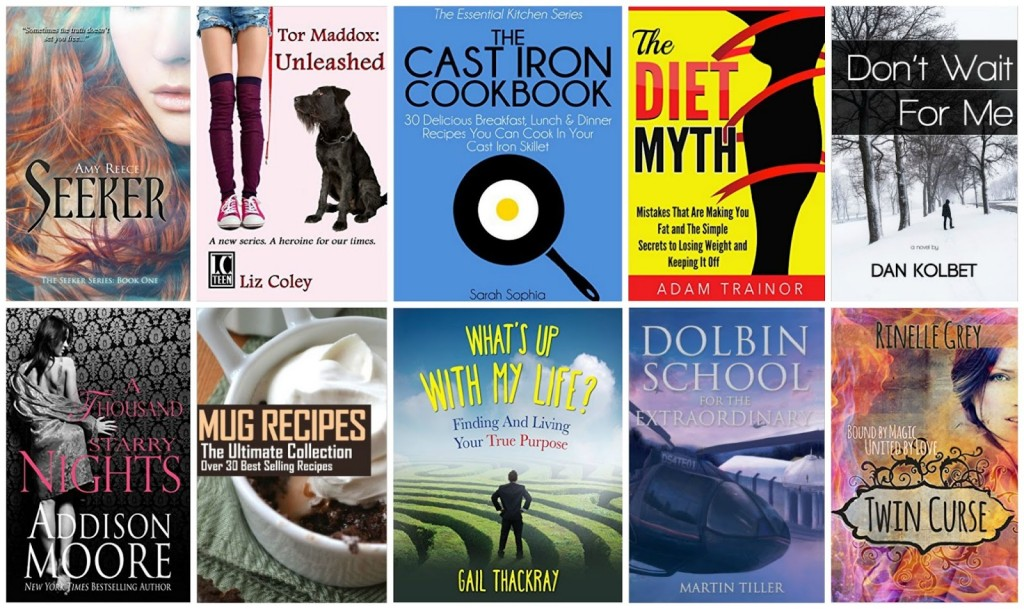 10 Free Kindle Books 8-13-15
