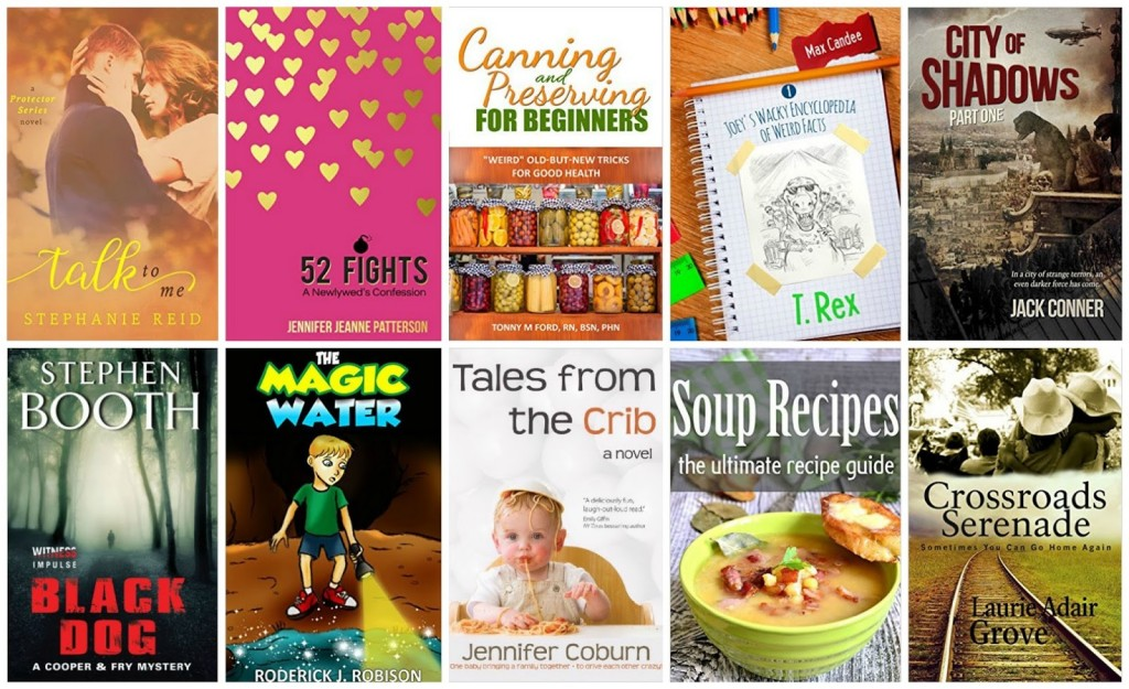 10 Free Kindle Books 8-17-15