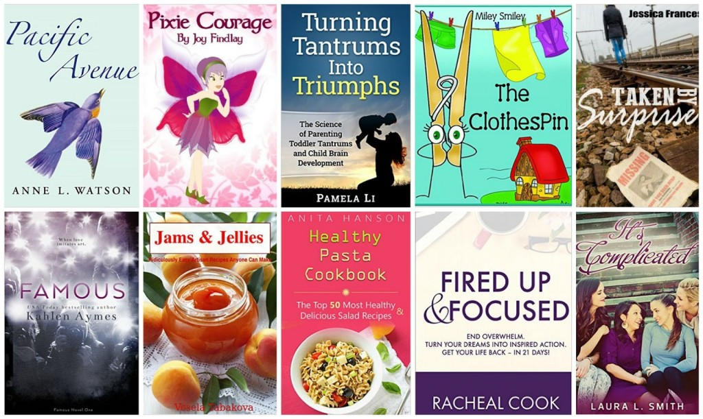 10 Free Kindle Books 8-27-15