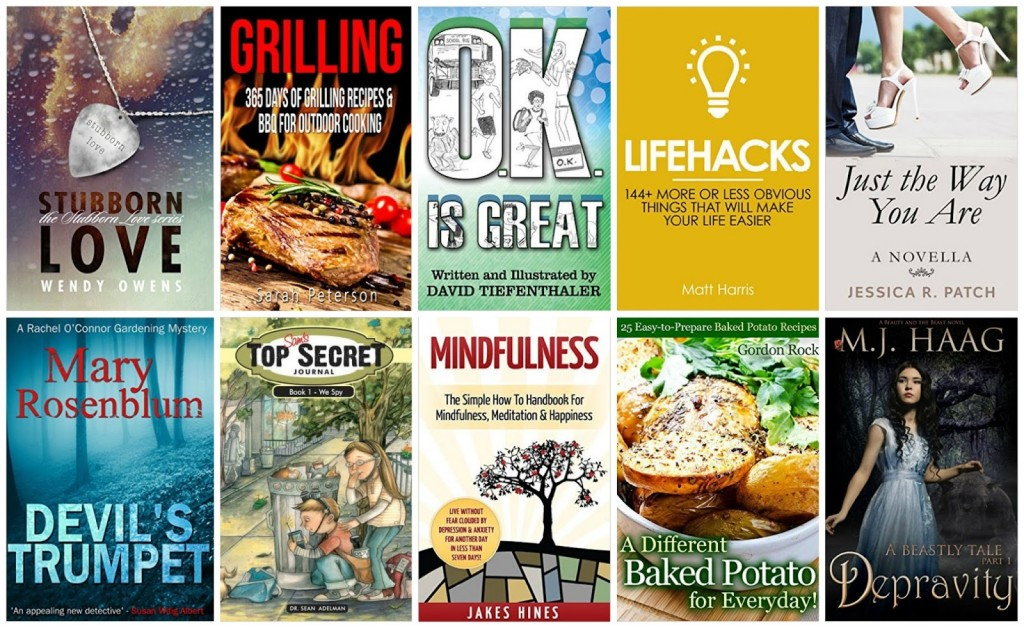 10 Free Kindle Books 8-5-15