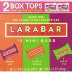 Thumbnail image for Larabar Mini Gluten Free Fruit & Nut Bars for $0.51 each Shipped