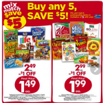 Thumbnail image for Giant Eagle Buy 5, Save $5 Cereal Event   8/6/15 – 8/12/15