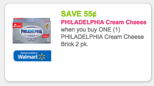 philadelphia cream cheese coupon