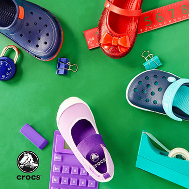 crocs on zulily