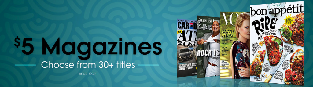 amazon magazine subscription deals