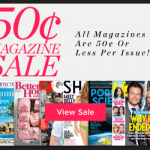 Thumbnail image for Magazine Subscription Sale | 50 Cents Per Issue or Less!
