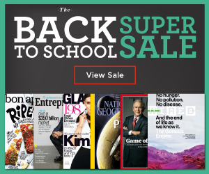 discount mags back to school deals
