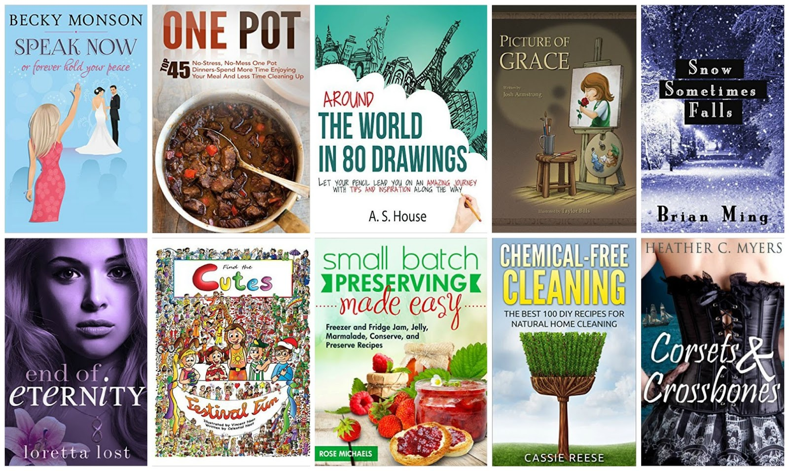 10 Free Kindle Books 9-10-15