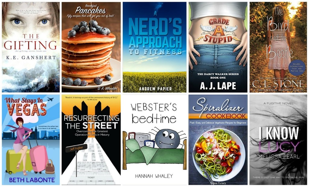 10 Free Kindle Books 9-13-15