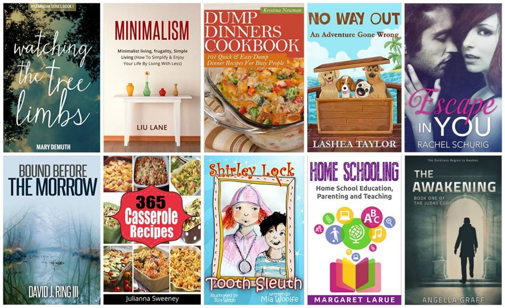 10 Free Kindle Books 9-29-15